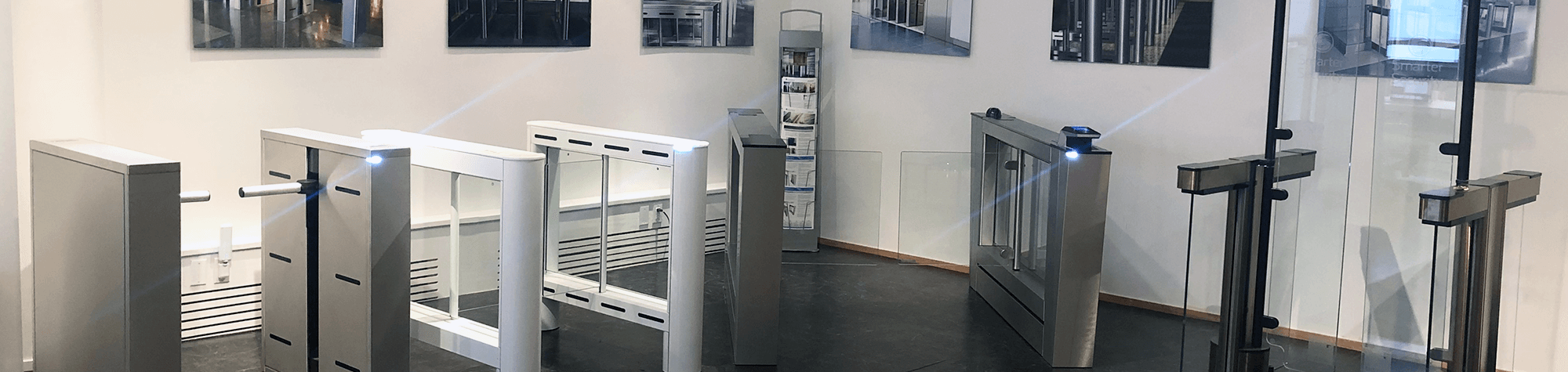 In the Fastlane®: Optical Turnstiles On Display in NYC